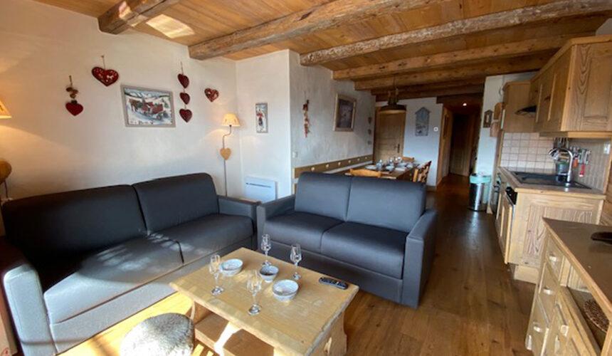 Salon appartement Saisie